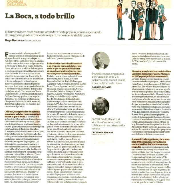 30.1.15 Diario La Nación. ADN