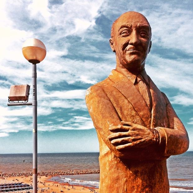 Alberto Olmedo, Mar del Plata.